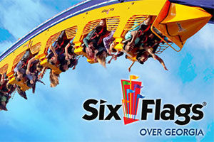 SIX FLAG OVER GEORGIA